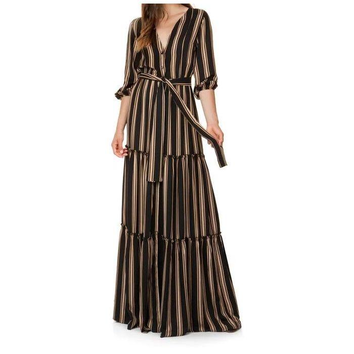 Toi & Moi φόρεμα maxi ριγέ 50-4128-29