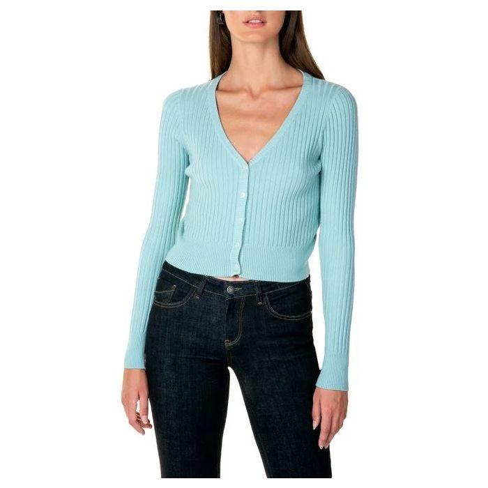 Toi & Moi μπλούζα κοντή με κουμπάκια 70-3563-29