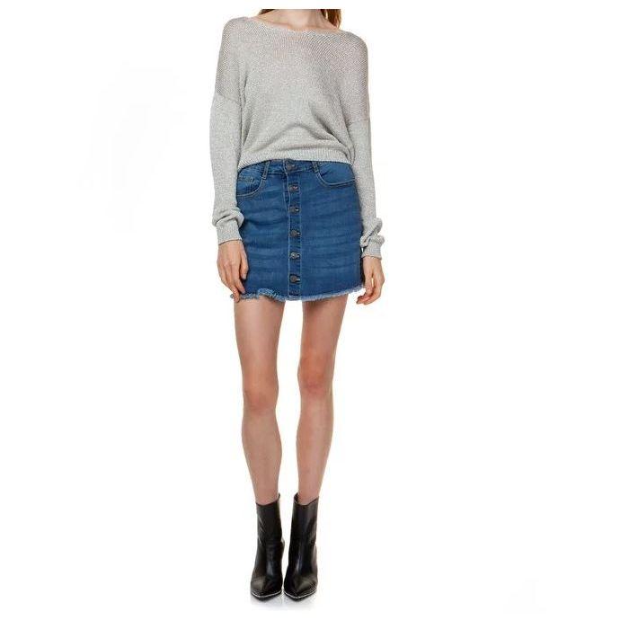 Toi & Moi φούστα mini τζιν 10-0961-29