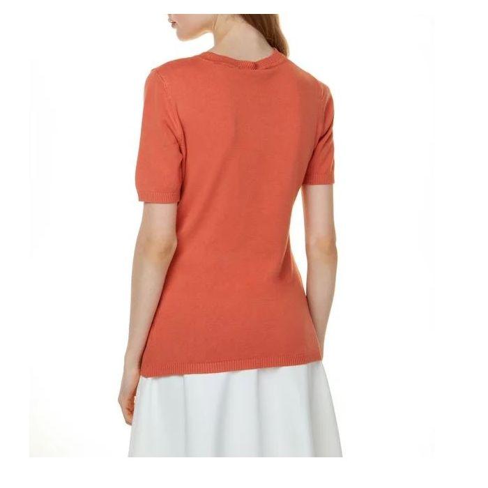 Toi & Moi μπλούζα πλεκτή κοντομάνικη 70-3557-29