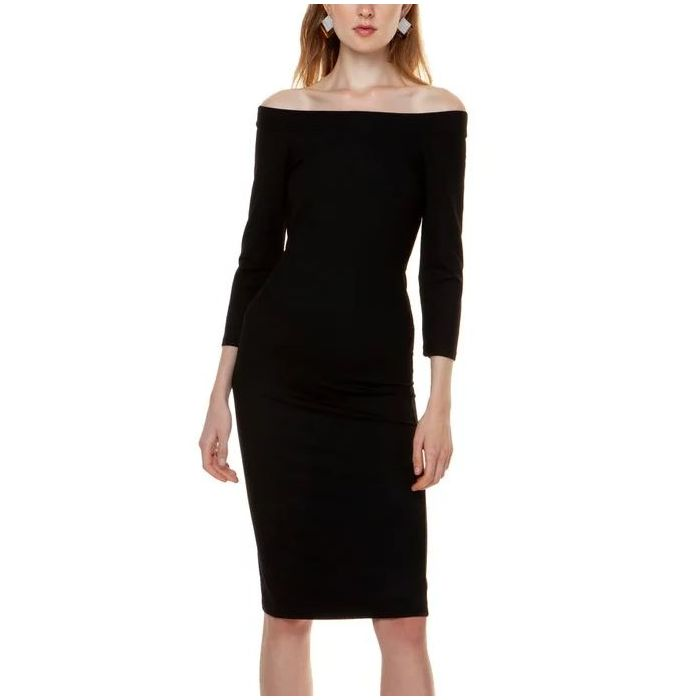 Toi & Moi φόρεμα midi off shoulder 50-4100-29