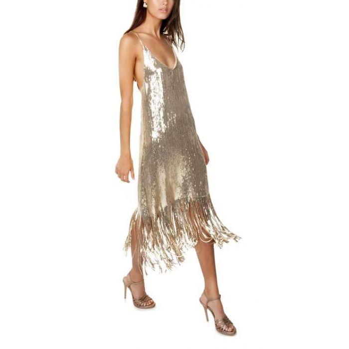 Toi & Moi φόρεμα μεταλλιζέ 50-4093-29