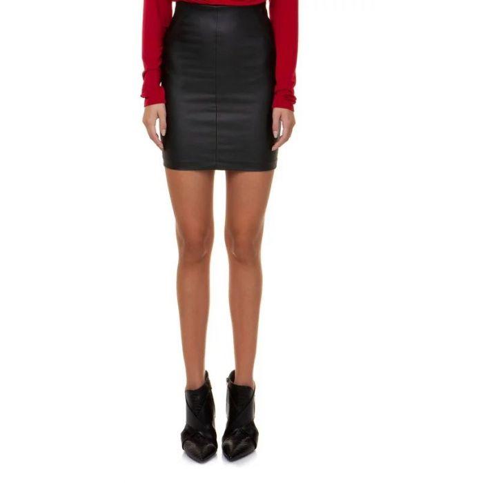 Toi & Moi φούστα mini δερματίνη 10-1025-29