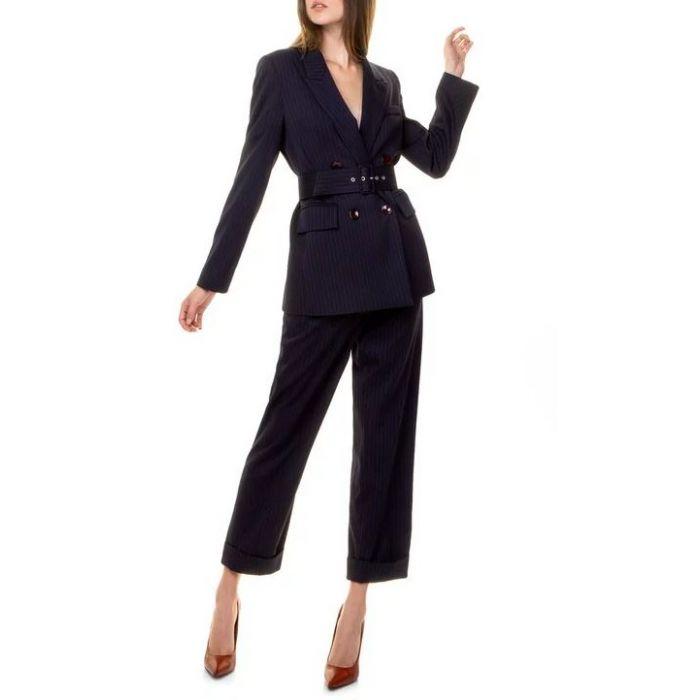 Toi & Moi παντελόνι με ρεβέρ 20-3063-29