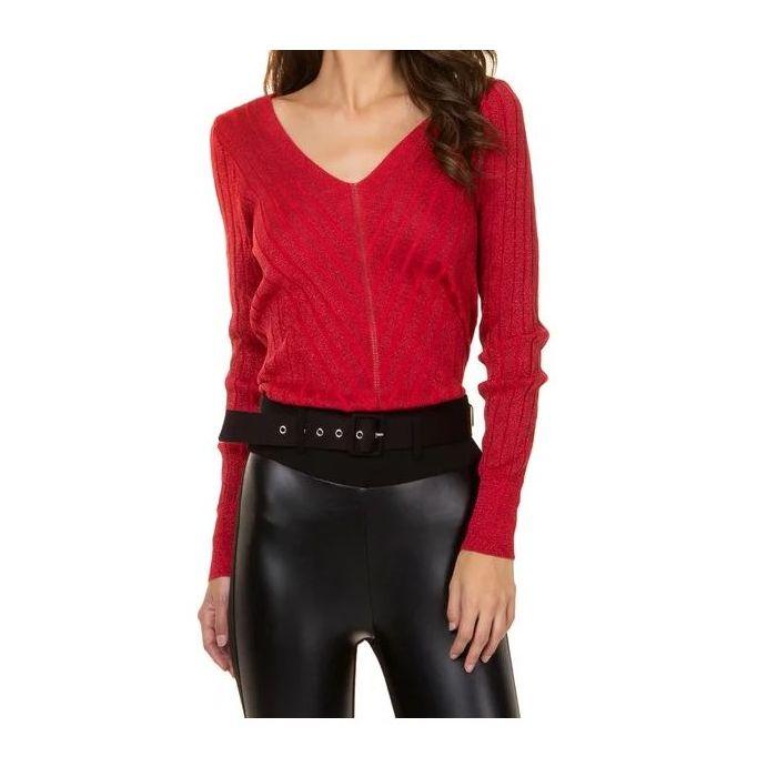 Toi & Moi μπλούζα πλεκτή μακρυμάνικη 70-3618-29