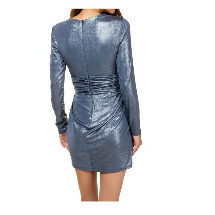 Toi & Moi φόρεμα mini μεταλιζέ 50-4266-29