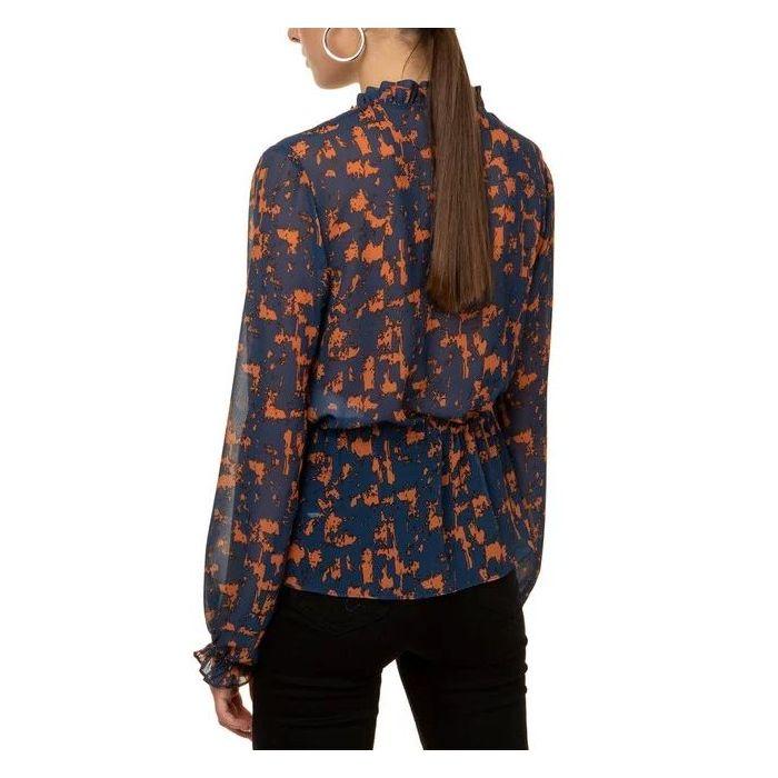 Toi & Moi πουκάμισο μακρυμάνικο εμπριμέ 30-2883-120