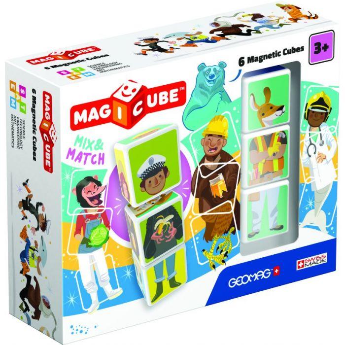 Geomag Magicube Mix & Match 6 Cubes 401940000123