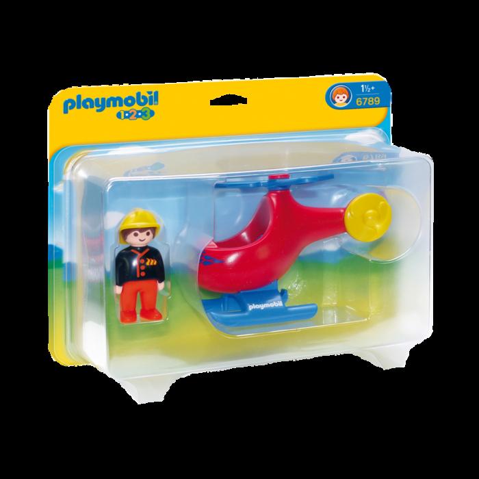 Playmobil ελικόπτερο της πυροσβεστικής 1118-0522