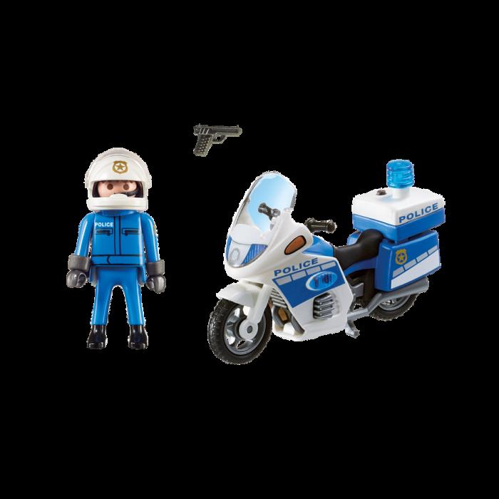 Playmobil Μοτοσικλέτα αστυνομικού  6923