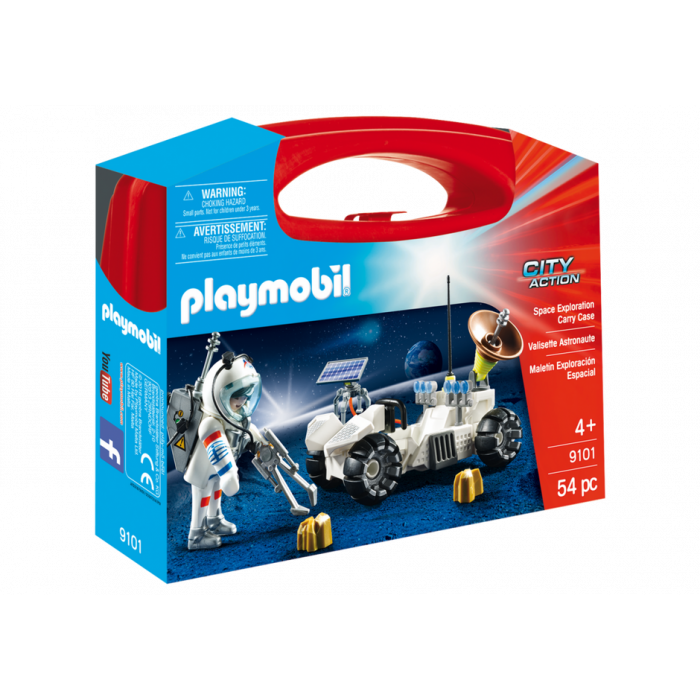 Playmobil Βαλιτσάκι Αστροναύτης Με Εξερευνητικό Όχημα 9101
