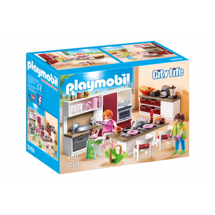 Playmobil Μοντέρνα κουζίνα 9269