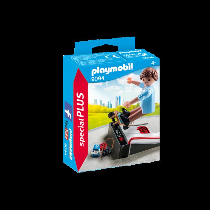 Playmobil Skateboarder με Ράμπα 9094