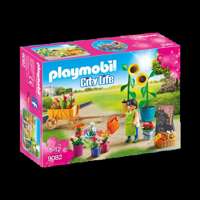 Playmobil Ανθοπώλης με Γλάστρες και Λουλούδια 9082