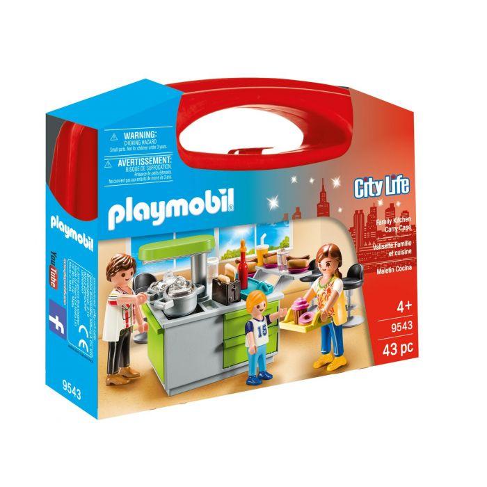 Playmobil Βαλιτσάκι Μοντέρνα Κουζίνα 9543