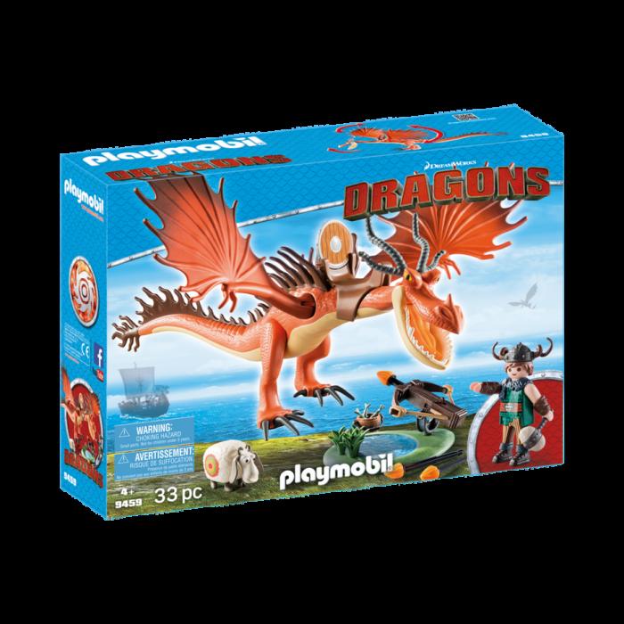 Playmobil Ο Μύξαρχος με τον Τσιγκελοδόντη 9459