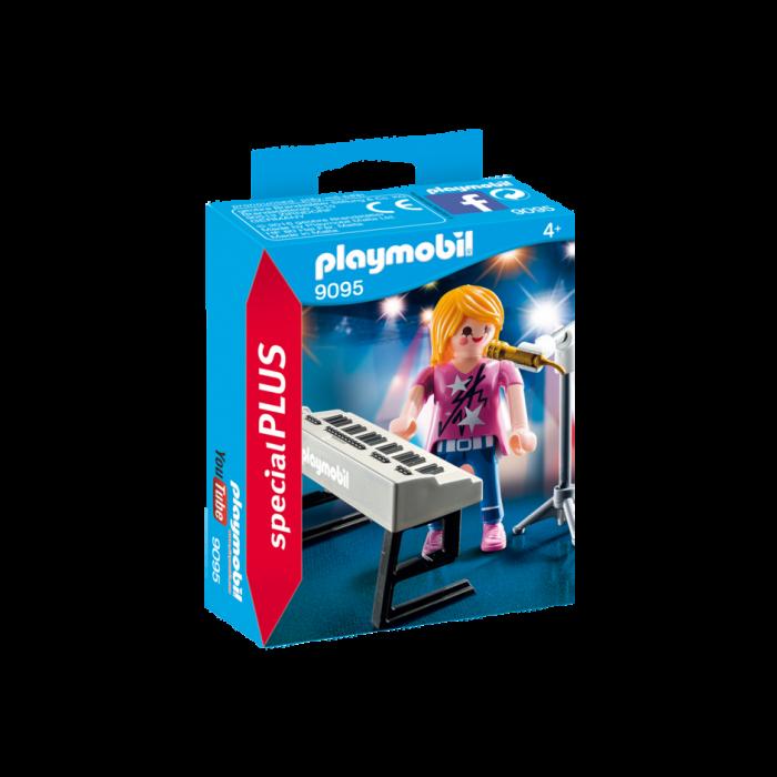 Playmobil Τραγουδίστρια με Αρμόνιο 9095