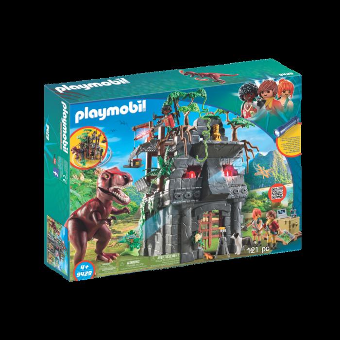 Playmobil Αρχηγείο των Εξερευνητών και Τ-Ρεξ 9429
