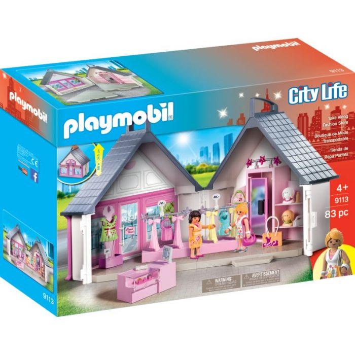 Playmobil Βαλιτσάκι Κατάστημα Ρούχων 9113