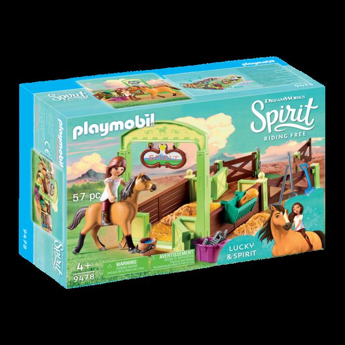 Playmobil Η Lucky με το άλογο Spirit 9478