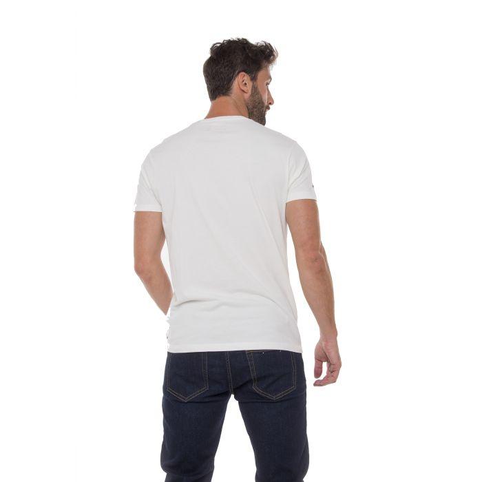 Funky Buddha t-shirt κοντομάνικο με τύπωμα FBM017-04219