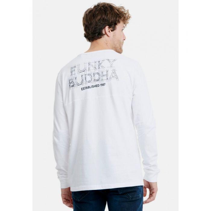 Funky Buddha μπλούζα μακρυμάνικη FBM018-07219