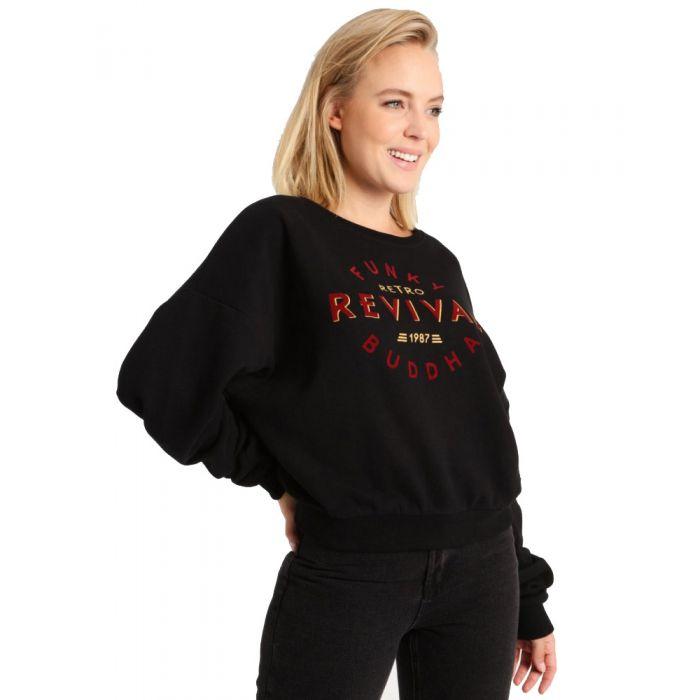 Funky Buddha μπλούζα φούτερ FBL102-06219