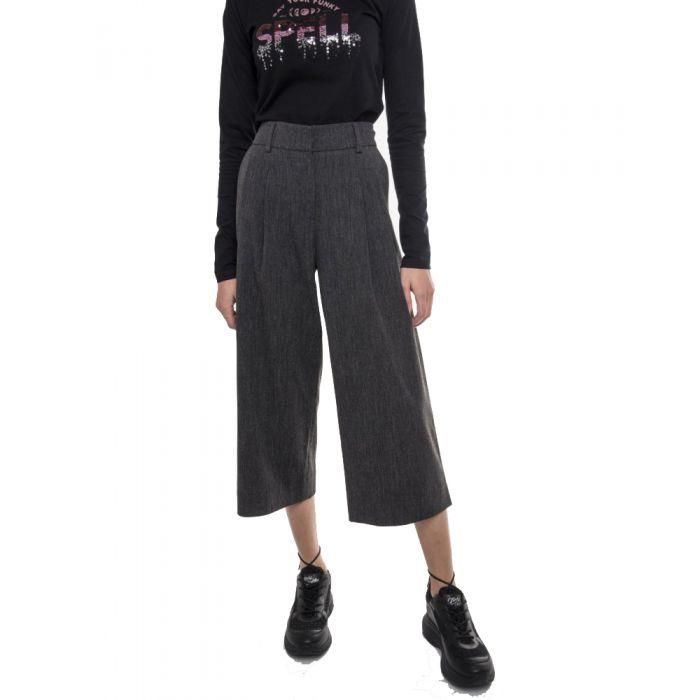 Funky Buddha παντελόνι ζιπ κιλοτ FBL126-02219