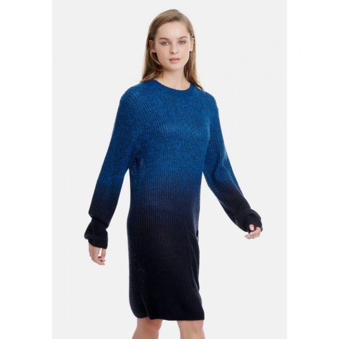 Funky Buddha φόρεμα πλεκτό FBL129-09219