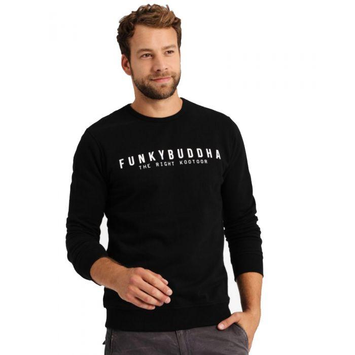 Funky Buddha μπλούζα φούτερ FBM001-06219