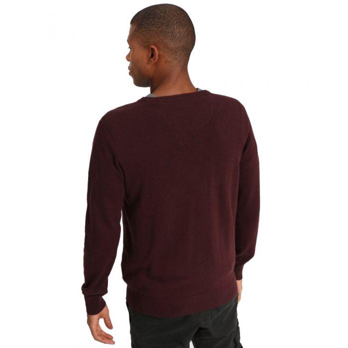 Funky Buddha μπλούζα πλεκτή μακρυμάνικη FBM001-09219