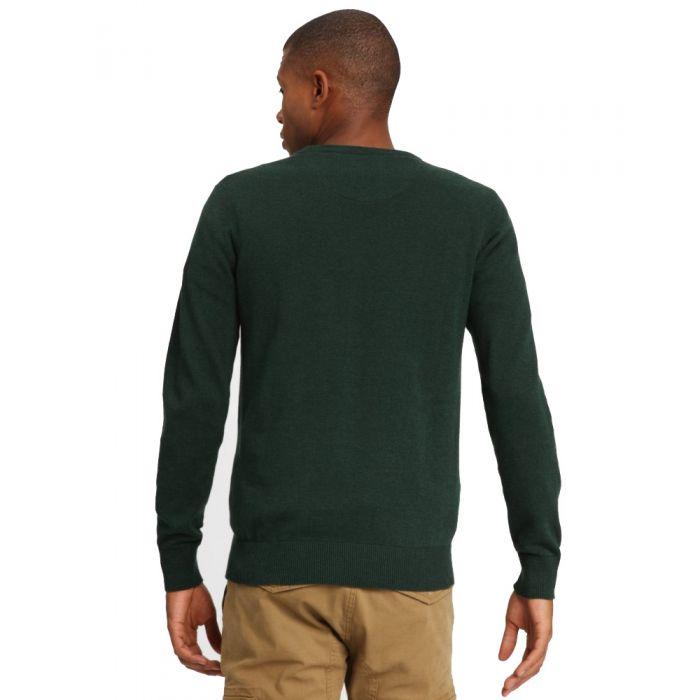 Funky Buddha μπλούζα πλεκτή μακρυμάνικη FBM002-09219