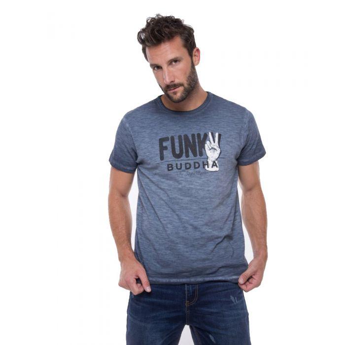 Funky Buddha t-shirt κοντομάνικο FBM010-04219