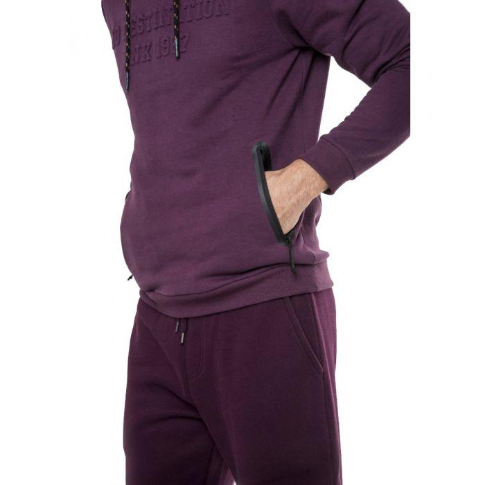 Funky Buddha μπλούζα φούτερ με κουκούλα FBM033-06219