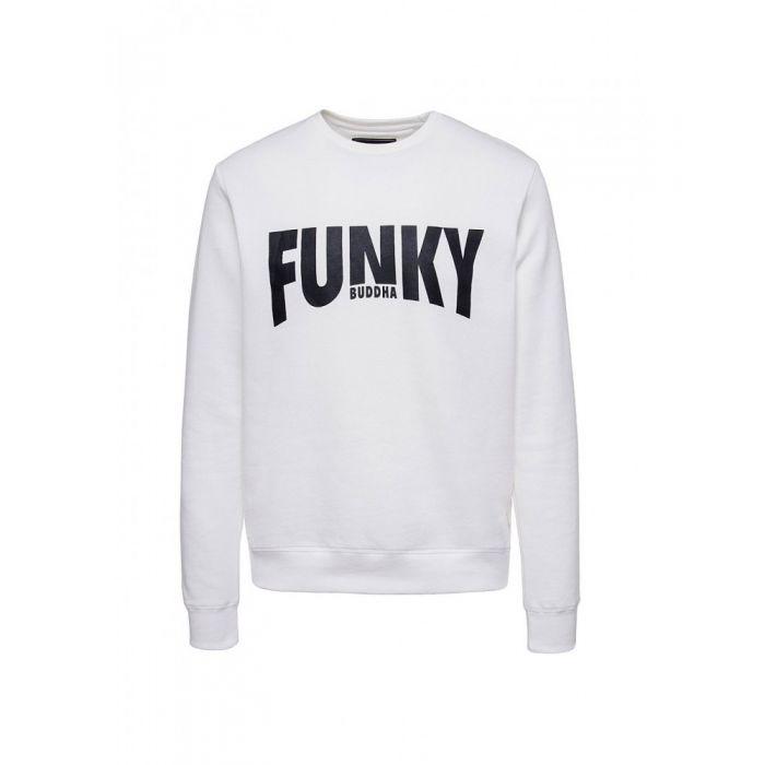 Funky Buddha μπλούζα φούτερ FBM042-06219