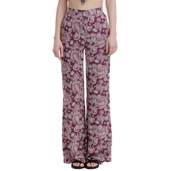 Funky Buddha παντελόνι εμπριμέ FBL00111402