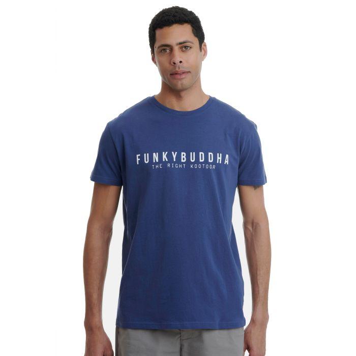 Funky Buddha t-shirt κοντομάνικο FBM00100804