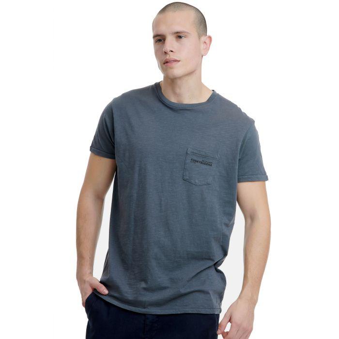 Funky Buddha t-shirt κοντομάνικο FBM00100304