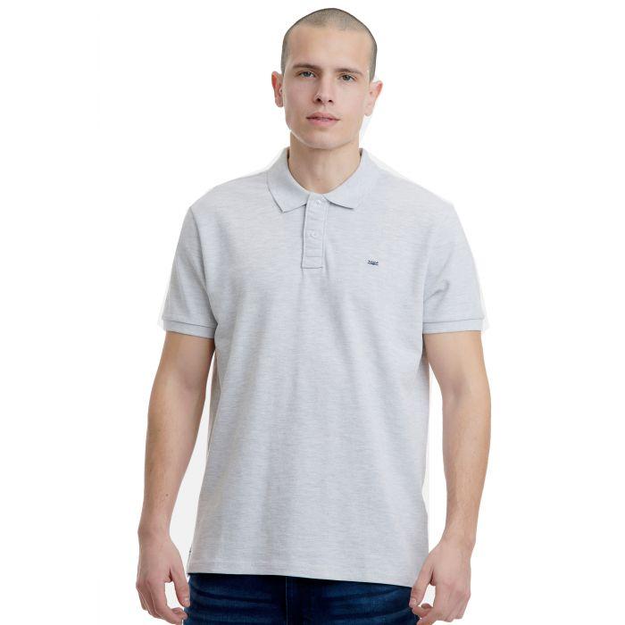 Funky Buddha μπλούζα polo κοντομάνικη FBM00100111