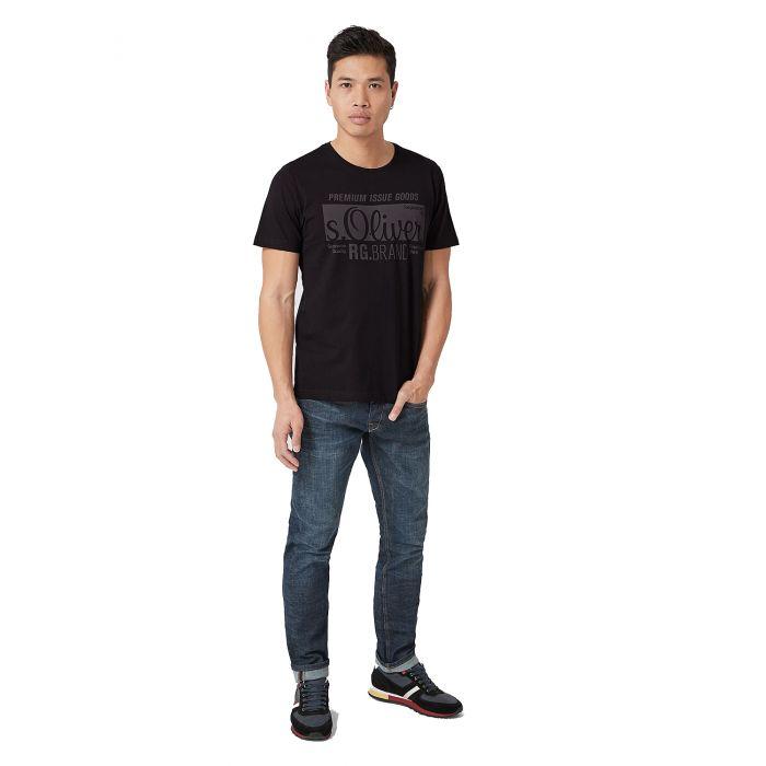 S'Oliver μπλούζα κοντομάνικη 03.899.32.5206