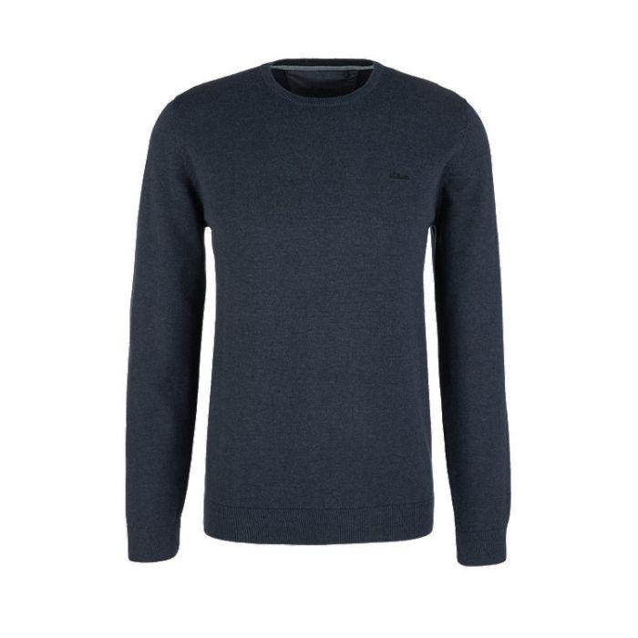 S'Oliver μπλούζα πλεκτή μακρυμάνικη 03.899.61.5232