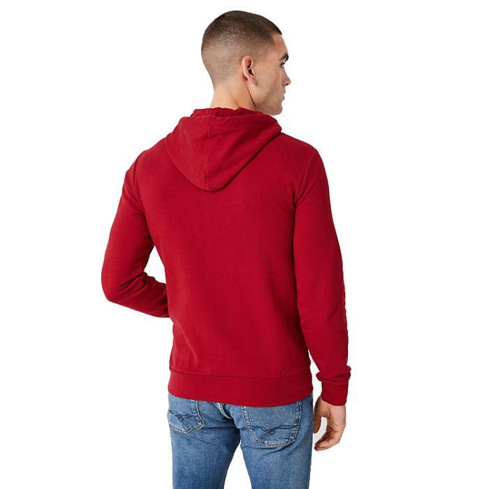 S'Oliver μπλούζα φούτερ με κουκούλα 03.899.41.5228