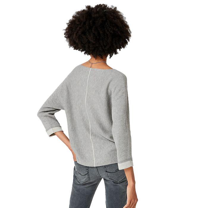 S'Oliver μπλούζα πλεκτή μακρυμάνικη 04.899.61.5332