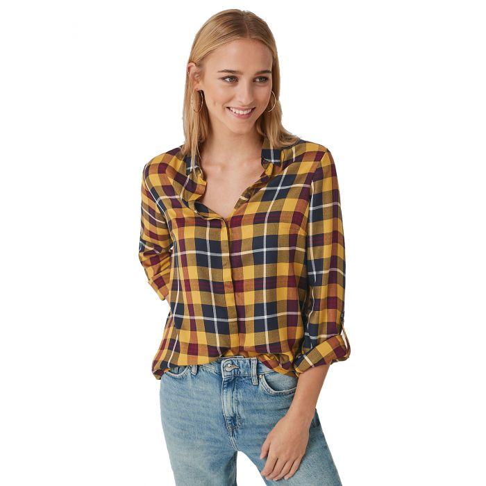 S'Oliver πουκάμισο μακρυμάνικο καρό 04.899.11.5357
