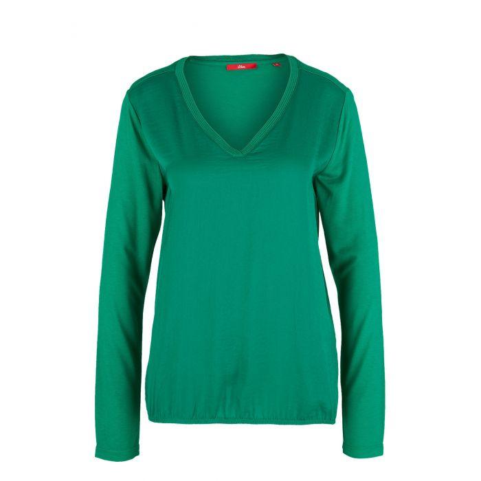 S'Oliver t-shirt μακρυμάνικο 14.908.31.5349