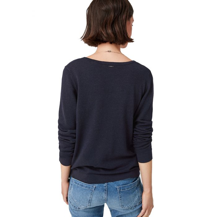 S' Oliver μπλούζα πλεκτή μακρυμάνικη 04.899.61.5330