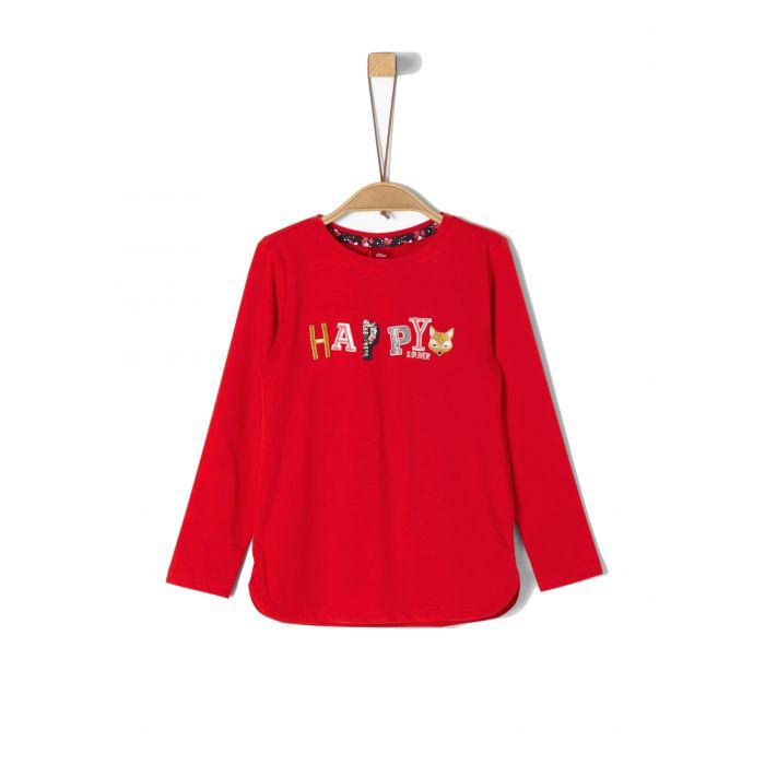 S' Oliver t-shirt μακρυμάνικο 53.909.31.8958