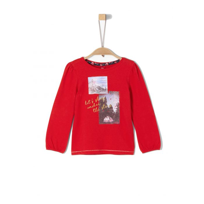 S' Oliver t-shirt με τύπωμα 53.909.31.8965