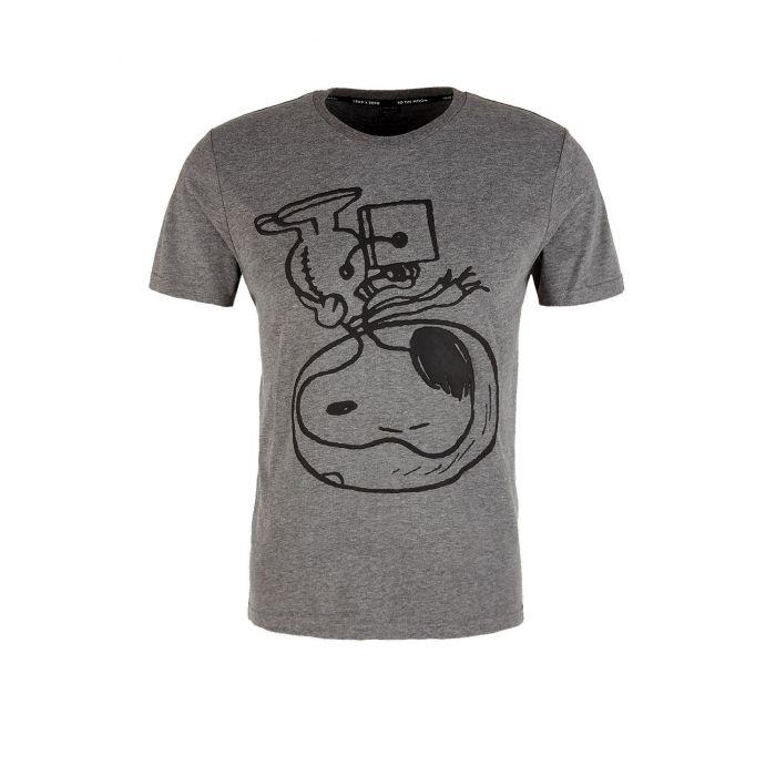 S'Oliver t-shirt κοντομάνικο τύπωμα Snoopy 13.911.32.4430