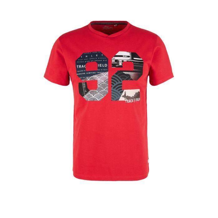 S'Oliver t-shirt κοντομάνικο με τύπωμα 2039543